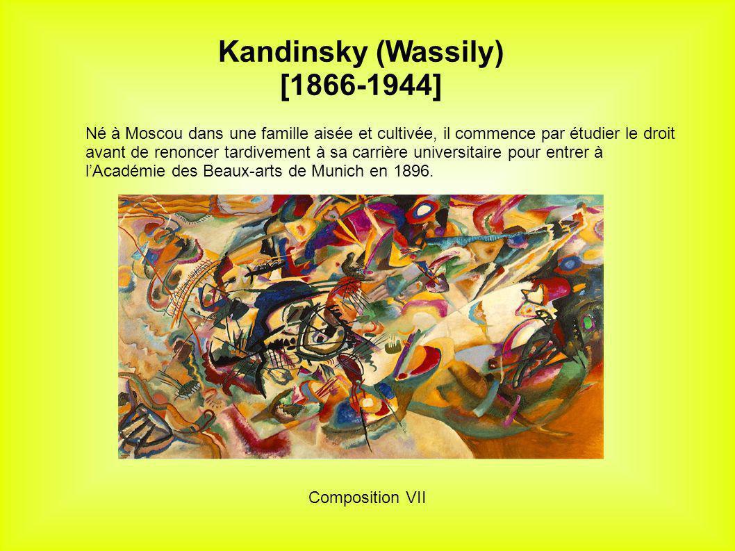 Kandinsky (Wassily) [1866-1944]